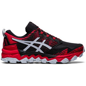 asics Gel-FujiTrabuco 8 Chaussures Homme, classic red/piedmont grey